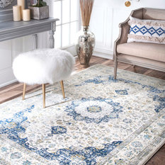 Residence Lucca Rug Blue 6 7 X9 Area Rugs