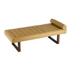 modern daybed. Modren Daybed For Now Designs  Retro Modern Tufted Leather Daybed Lounge Chaise Bench  Daybeds Throughout Daybed