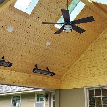 Prairie Village Open Porch Design