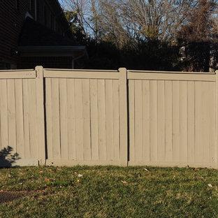 Stained Cedar Fence Houzz