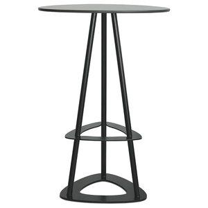 Pop Indoor and Outdoor Bar Table, Black