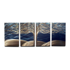 Metal Wall Art Decor Abstract Contemporary Modern Sculpture- Tree of Life