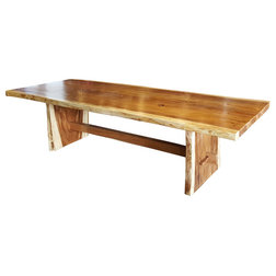 Rustic Outdoor Dining Tables by Chic Teak