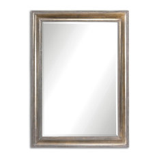 Avelina Wall Mirror in Silver Plated