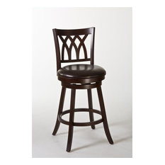 Hillsdale Tateswood 25.75-inch Swivel Counter Stool In Cherry