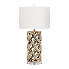 Cyan Design Satin Brass Baba Table Lamp With 1 Light 100W