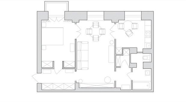 Houzz тур: Квартира для архитектора с советским настроением