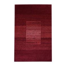 Velvet Red Floor Rug, 240x170 cm