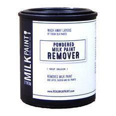 Milk Paint Remover, White, Half Gallon