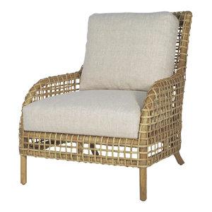 Groovy Verona Outdoor Lounge Chair Espresso Tropical Outdoor Machost Co Dining Chair Design Ideas Machostcouk
