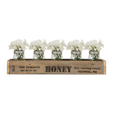Centerpiece Box With Vintage Honey Stamp