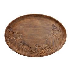 Silk Plants Direct Plate, Set of 2