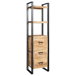 Rustic Bookcases by Icona Furniture
