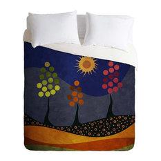 Deny Designs Viviana Gonzalez Paisaje Y Color Duvet Cover - Lightweight