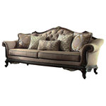 Homelegance - Homelegance Bonaventure Park Sofa, Brown Chenille - Homelegance Bonaventure Park Sofa in Brown Chenille Sofa in Brown Chenille