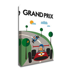Grand Prix by Tomas Design, Print on Canvas, Ready to Hang