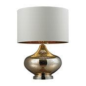 Dimond Lighting D269 Gold Mercury Glass Table Lamp