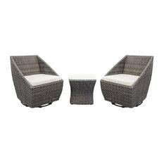 Heyfield Swivel Chair Set