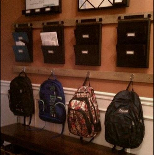 Backpack Storage | Houzz