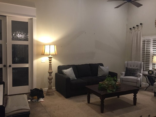 Decorating A Wall With Vaulted Ceiling