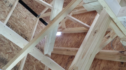 Seeing Daylight In Attic Space
