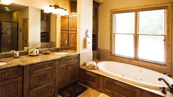 Sugar Point // Rustic Master Bath