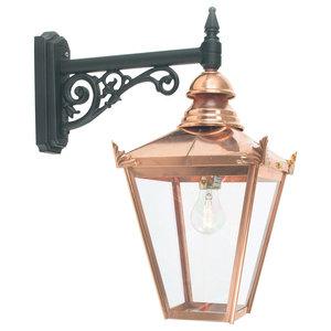 Down Wall Lantern, Copper