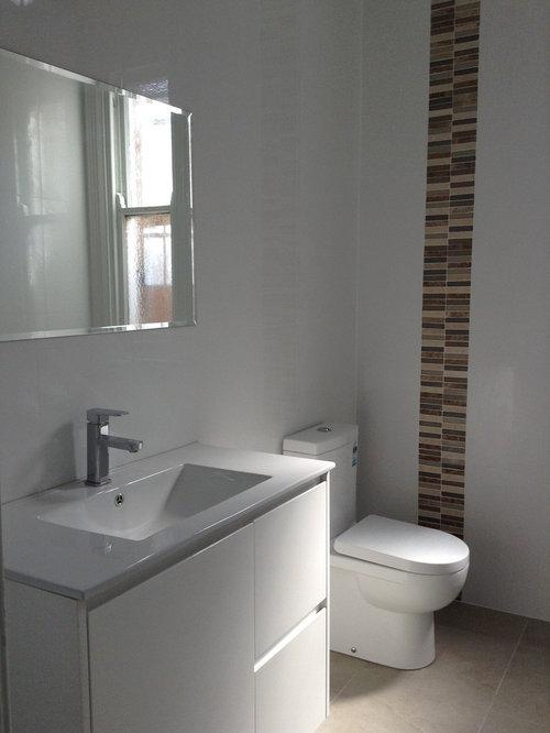 Modern sydney powder room design ideas remodels photos for Modern powder room design