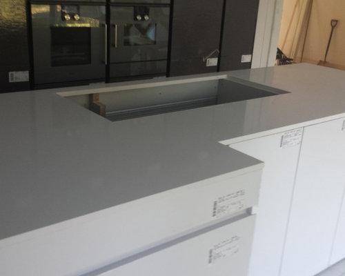 Silestone blanco zeus quartz kitchen worktop - Silestone blanco zeus precio ...
