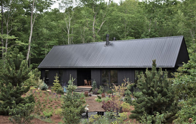 USA Houzz Tour: A Landscape Designer's Cabin in the Mountains