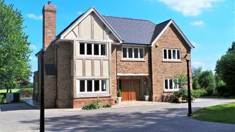 New-build house, Ash