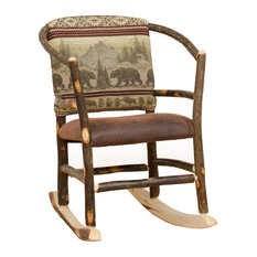 Furniture Barn USA   Rustic Hickory Hoop Rocking Chair, R. Bradley   Rocking  Chairs