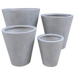 Contemporary Outdoor Plant Pots & Planters by Getpotted
