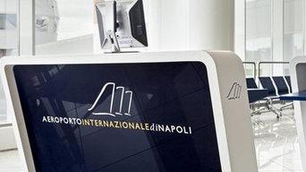 Restyling dell'Aeroporto Internazionale di Napoli