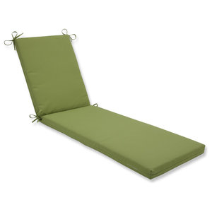 Outdoor Indoor Sunbrella Dupione Paradise Chaise Lounge Cushion Contemporary Outdoor Cushions And Pillows By Pillow Perfect Inc