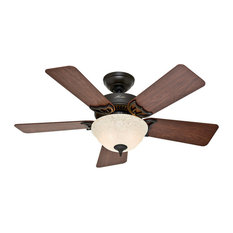 Most popular new orleans ceiling fans houzz for 2018 houzz hunter fan company hunter 42 kensington new bronze ceiling fan with light ceiling aloadofball Choice Image