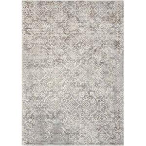 Kathy Ireland Desert Skies Rug, Grey, 274x366 cm