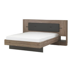 Victoria Panel Bed, UK Super King