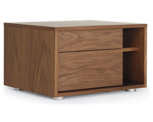 Parallel Bedside Table   Nightstands And Bedside Tables