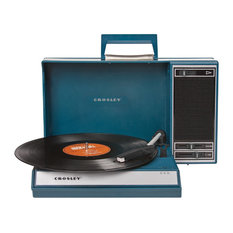 Swordfish And Friend - Spinnerette Suitcase Turntable - Home Electronics