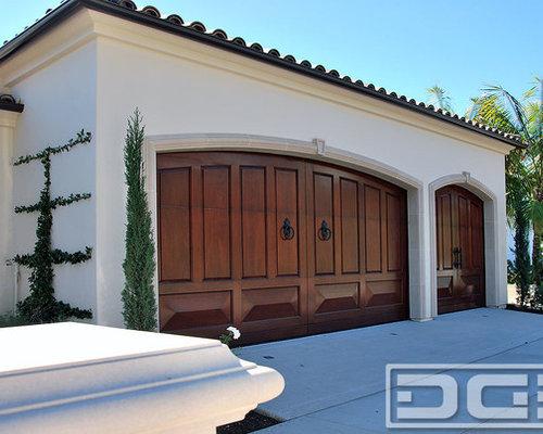 Orange County Mediterranean Garage Doors U0026 Matching Wrought Iron Garden  Gates!