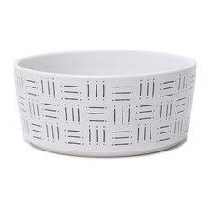 Mudcloth Dog Bowls, Line Print