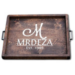 Makarios Decor - Serving Tray - Makarios Decor serving trays are beautifully hand-crafted from reclaimed wood and finished with a sealant to retract water.