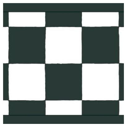 Black And White Checkered Wallpaper Border