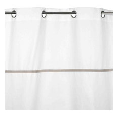 """Eyelet Curtain Pampa, Off-White, 57.1""""x110.2"""""""