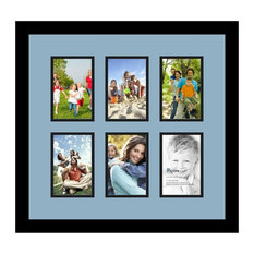 ArtToFrames Collage Photo Frame  with 6 - 4x6 Openings