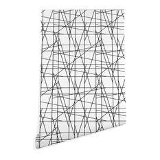 Deny Designs Gabriela Fuente Architecture Wallpaper, Black, 2'x8'