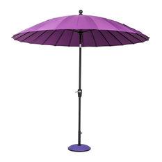 Geisha Garden Parasol, Purple