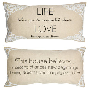 Mr  Right Romantic Anniversary Wedding Quote Pillow Gift for Husband