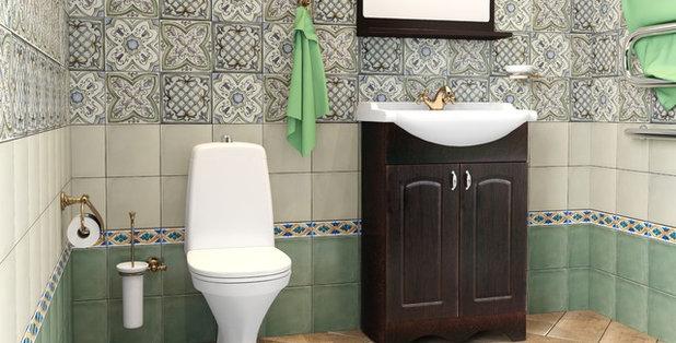 Instructie houzz hoe leg de tegel op de muur 26 foto 39 s how i can - Kleine badkamer leroy merlin ...